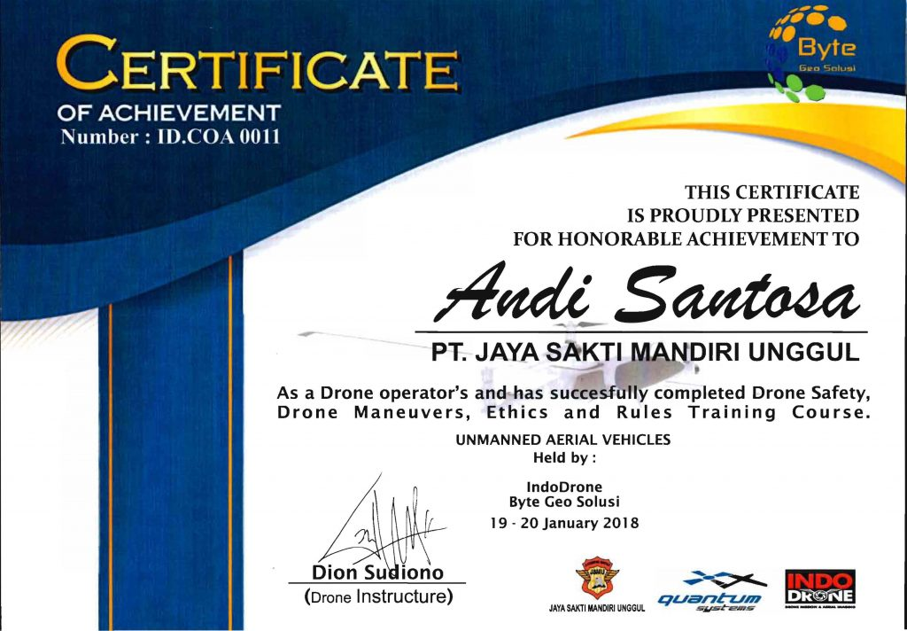 Basic Drone Andi Santosa